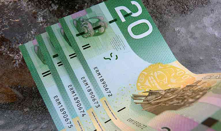 Canadian Dollar to USD