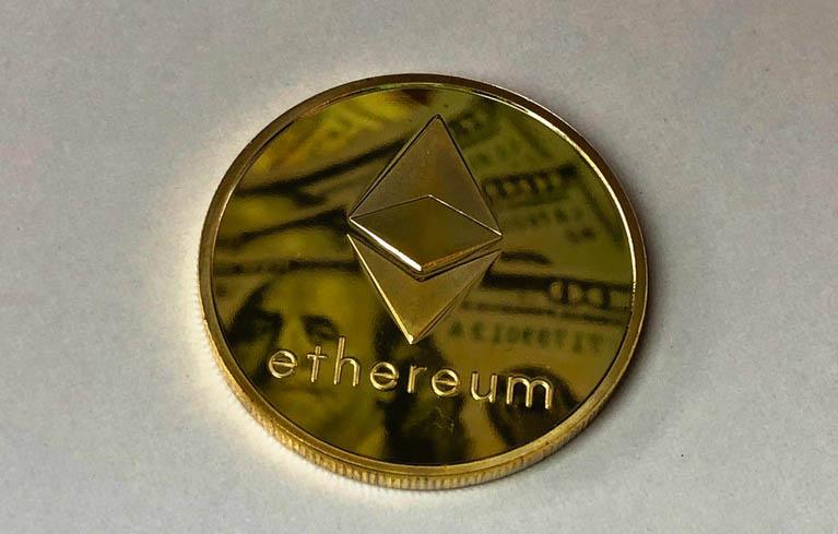 ethereum price in 2018