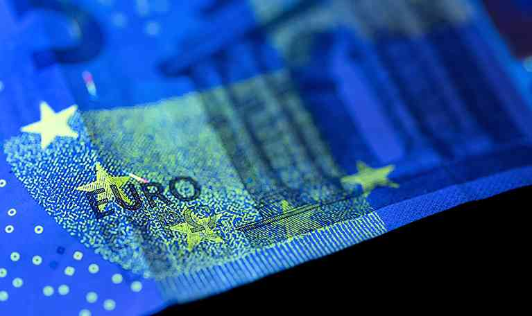 Euro Currency Bill