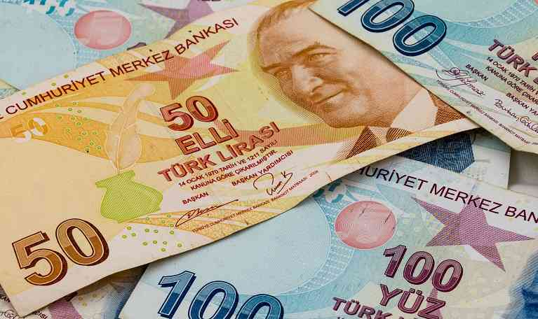 Turkish Lira fall in August 2018